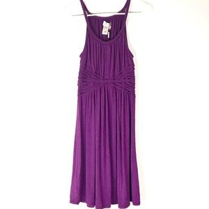 NWT MAX STUDIO Sleeveless Dress Purple Specialty M